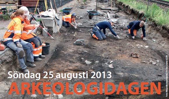 Arkeologidagen 2013