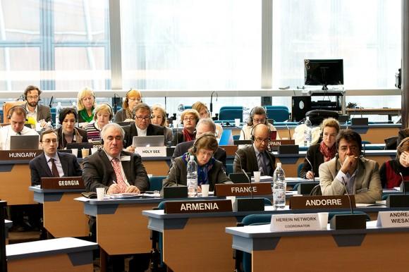 3ème Réunion plénière du CDCPP, Claude FISCHER/©Council of Europe