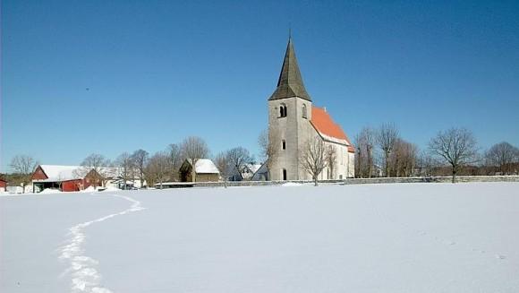 Hejnums kyrka på Gotland