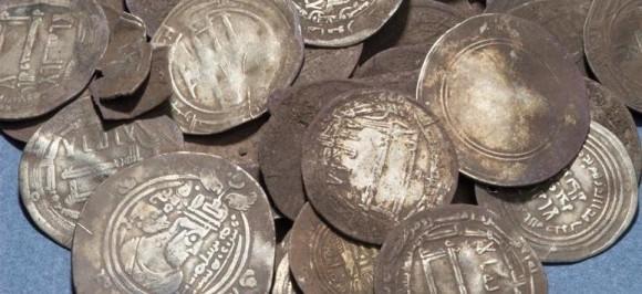 Silverskatt från vikingatiden funnen i Sundveda, Sigtuna