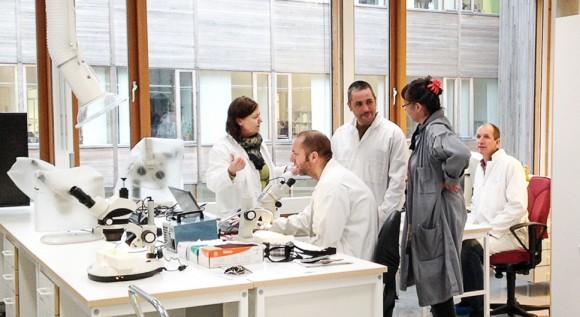 Vid Kulturarvslaboratoriet tillämpas tekniska och naturvetenskapliga metoder för kulturmiljövårdens behov.