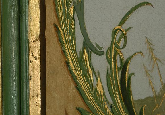 Detalj från interiör, Kina slott