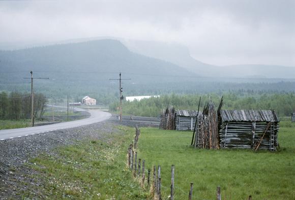 Fjällmiljö i Västerbotten