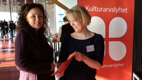 Kulturarvslyftets monter - Arbetsmarknadsdagarna i Uppsala 2013