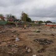 Arkeologisk undersökning vid Gamla Uppsala, oktober 2012