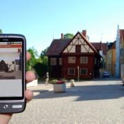 Med en smartphone kan man lära sig mer om sin omgivning
