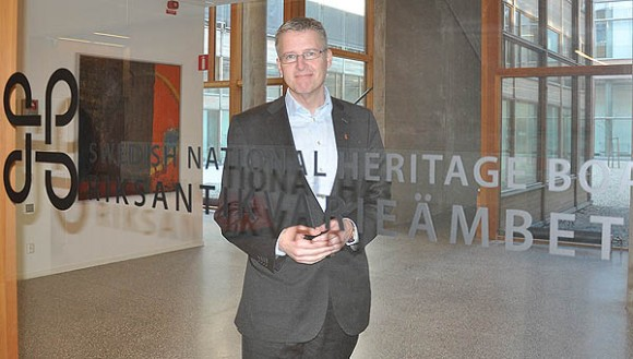 Lars Amréus, riksantikvarie