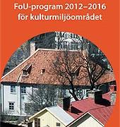 FoU program 2012-2016
