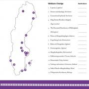 Karta över svenska världsarv från norr till söder. Vilka har du besökt?