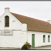 Skolhuset i Tommarp byggd 1727 som nu är museum.