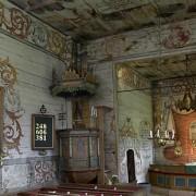 Interiörbild från Granhults kyrka i Småland