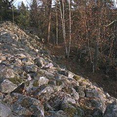 Fornborgen Stora skansen.