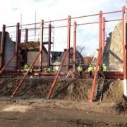 Ringmuren återuppbyggnaden