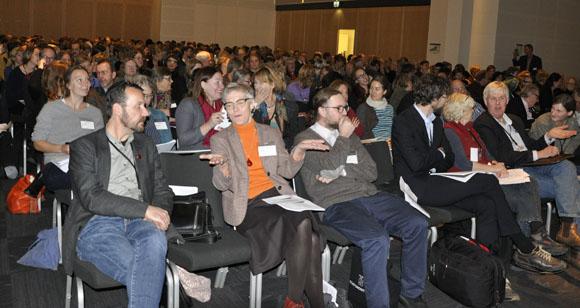 Drygt 300 personer från myndigheter, länsstyrelser, högskolor/universitet, kommuner med flera samlas på Landskapsforum.
