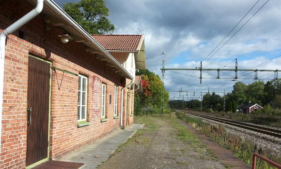 Fåglaviks station, Hudene 36:1, Herrljunga kommun, Västra Götalands län