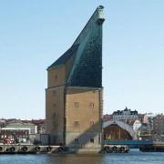 Sydkustens Örlogsbas, Karlskrona: Den gamla Mastkranen på Trossö byggdes mellan 1804-1806.