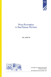 Price Formation in Real Estate Markets