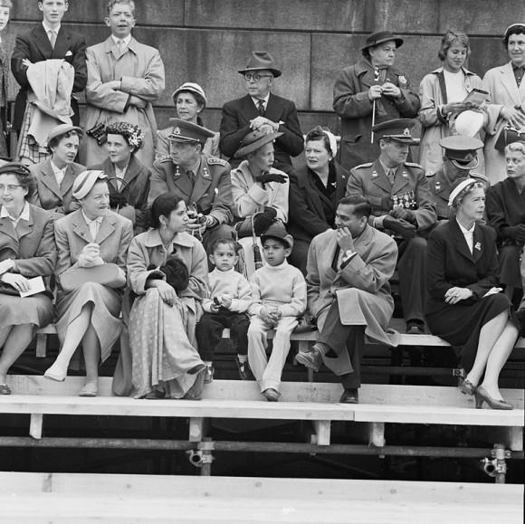 Denna bild från 1950-talet av Pål-Nils Nilsson är en av de bilder som visas i Europeana.