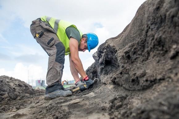 Arkeolog vid Nya Lödöse