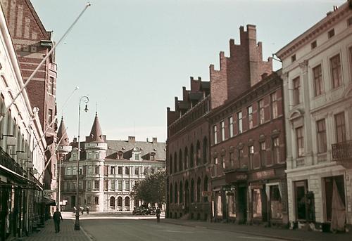 Storgatan i Landskrona 1943