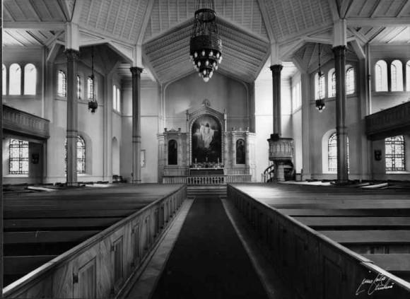 Caroli kyrka interiör