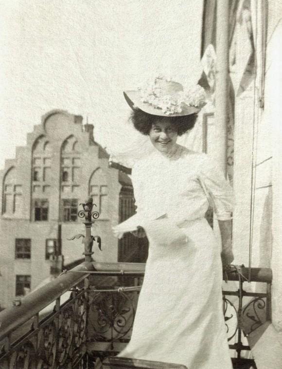 Ellen von Hallwyll, foto ur Johnny Roosvals arkiv i ATA