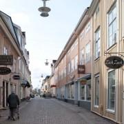 Eksjö Norra Storgatan, en del av riksintresset Eksjö trästad.