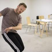 Björn Säfsten är dansare och koreograf