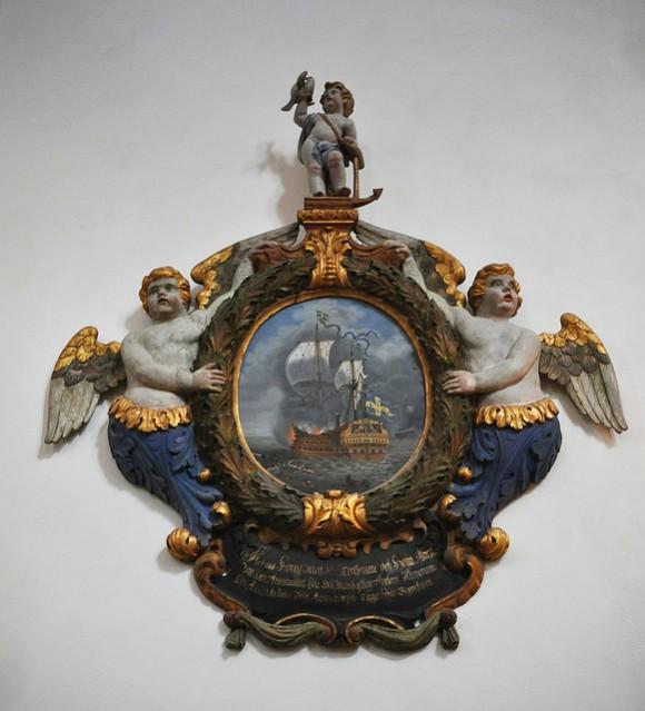 Riksantikvarieämbetet har reviderat föreskrifterna om tillstånd till utförsel av vissa äldre kulturföremål. Epitafium Kalmar Domkyrka.