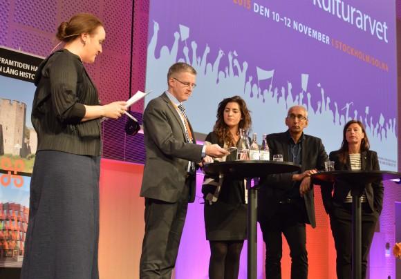 Johanna Koljonen, Lars Amréus, Arna Mackic, Kenan Malik och Maria Jansén.