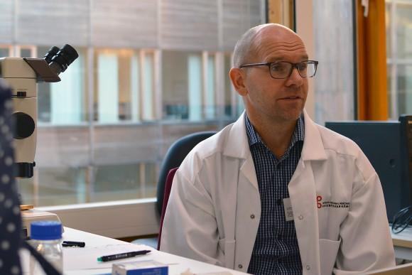 Gästkollegan Jan Blåberg