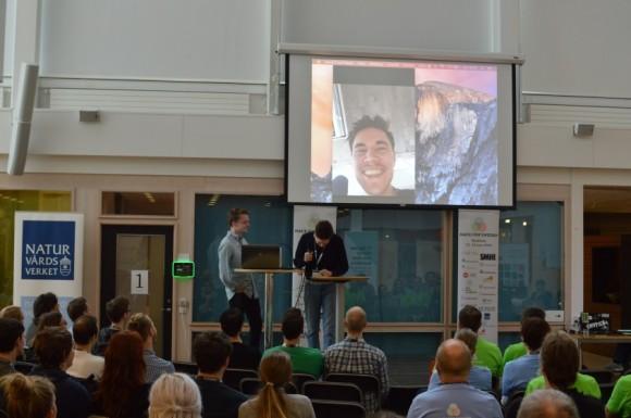 Presentation av Chronicle, en spelidé som använder K-samsöks API. Spelet riktar sig till unga och uppmuntrar att hitta och samla på historiskt intressanta platser.