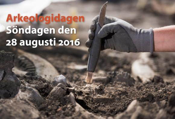Temabild Arkeologidagen 2016.