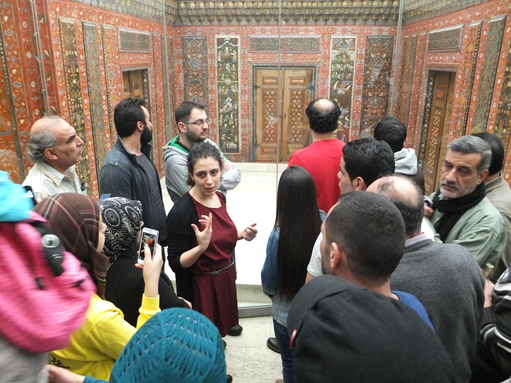 Alepporummet, Pergamonmuseet i Berlin
