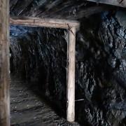 Interiör från gruvmiljö i Norberg
