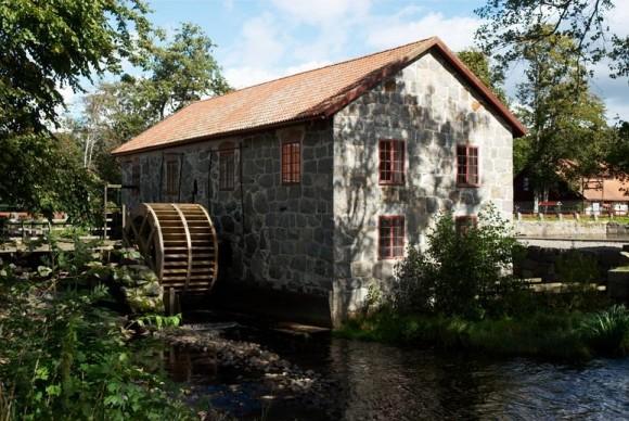 Huseby bruk i Småland. Ett exempel på en kulturmiljö vid vatten.