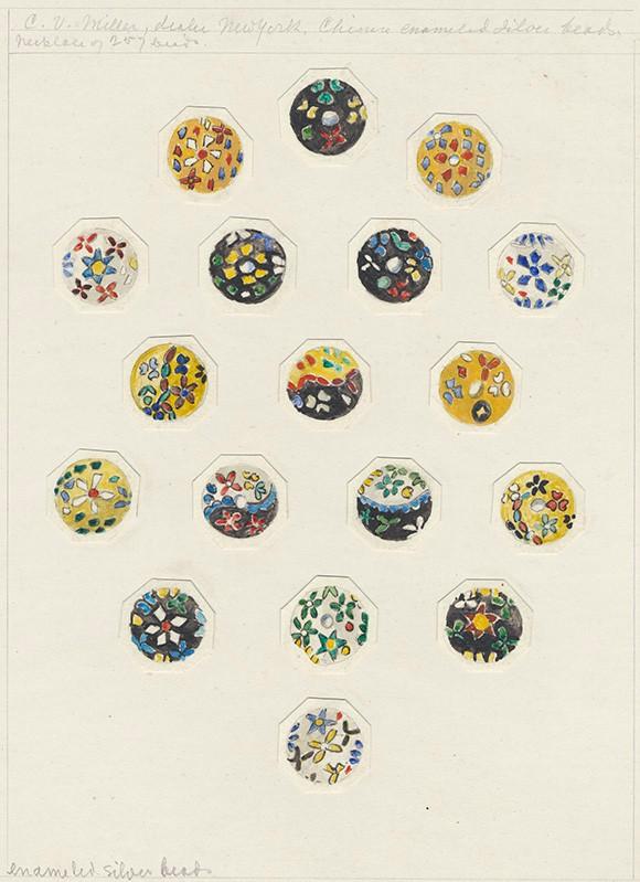 Akvarell ur Gustav Eisens samling