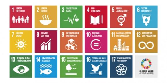 FN:s mål för Agenda 2030