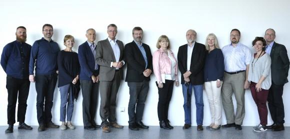 Mötets deltagare från Sverige, Norge, Danmark och Färöarna, Finland och Åland samt Island.
