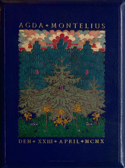 Hyllninsadresser till Agda Montelius