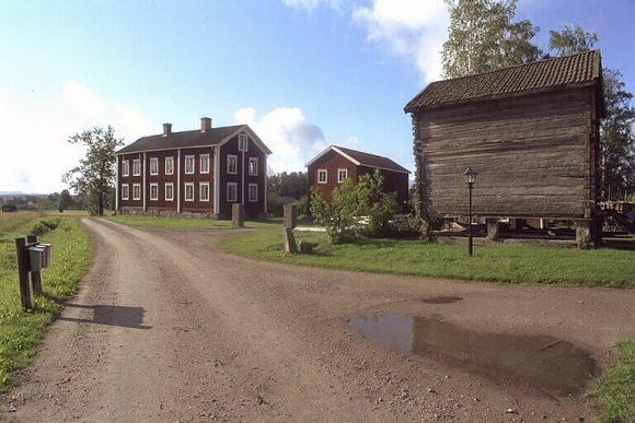 Kulturreservatet Västeräng, Hälsingland.