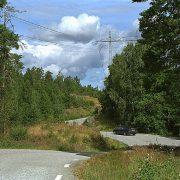 Framåt mot 2017. (Vägen mellan Tisselskog och Håverud.)
