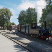 Mariefreds station drivs av Östra Södermanlands Järnvägar, medlemsorganisation i Museibanornas riksorganisation, som är en av föreningarna som fått bidrag.