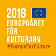 Logotyp för Europaåret för Kulturarv 2018