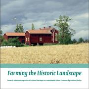 Faksimil av omslaget till diskussions-Pm:n om kulturarv och jordbrukspolitik.