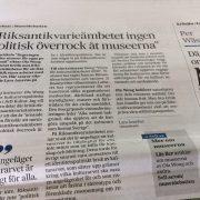 Debattartikel i Svenska Dagbladet 22 maj 2017