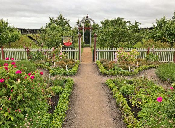 Tycho Brahes rekonstruerade renässansträdgård