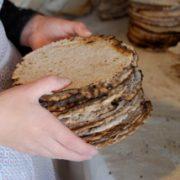 Med eld och glöd till nybakt bröd