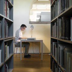 Riksantikvarieämbetets arkiv och bibliotek i Stockholm.