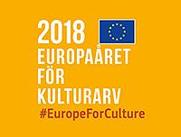 Logotyp för Europaåret för kulturarv 2018.